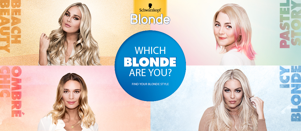 Which blonde are you?